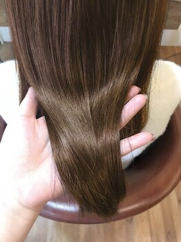 髪質改善ヘアエステサロン ルアナ(Luana)の写真/「全メニューで髪質改善♪」パーマやカラーを繰り返すほど髪がきれいに扱いやすくなる☆