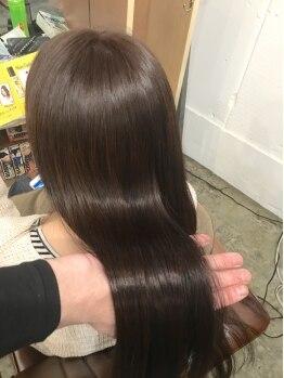 ダブリュー(Doublew)の写真/【出逢えてよかった…感動の口コミ多数♪】諦めていた髪の救世主!驚きの縮毛矯正技術を体感してください!