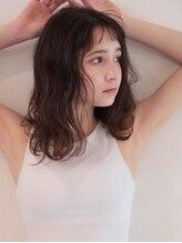 アグ ヘアー ハーマン 浜田山店(Agu hair hermann)《Agu hair》短めバング×女っぽカールミディ