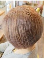 ルフュージュ(hair atelier le refuge)ピンクベージュ