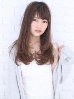 アークヘアーシェリー 萱島店(Arc hair Cherie)の写真/【女性限定カット¥2200☆】いつでも通いやすい価格設定だから月一通いもOK★プチプラで可愛く♪
