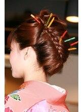ヘアーアンドメイクボーノ(Hair & Make Buono)着物用アップスタイル 和髪