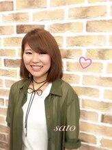 ヘア サルーン マイア 町田駅店(hair saloon maia)sato