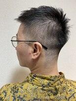 短髪フェード