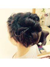 ヘアメイク ルポ(Hair Make rePos)編みこみミディアムセット