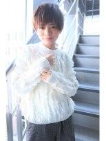 ヘアサロンエムピーズ イケブクロ(HAIR SALON M P's 池袋)ショートバング☆ナチュラルショート