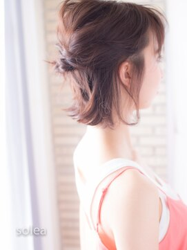 ソレア(solea)簡単ヘアアレンジ☆カフェアレンジ solea yuuki