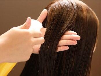 メリッサ ヘアーアンドスパ(melissa hair&spa)の写真/【最高級のヘアケア】傷んだ髪も美髪に◎トリートメントを超える《美髪エステ》のご予約 はお電話下さい。