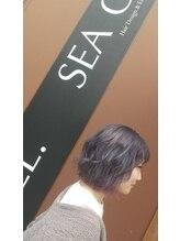 シーガル 北広島店(SEA GULL)外国人風*抜け感アッシュ