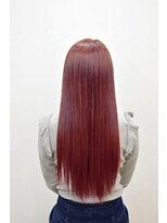 ヘアーサロン エール 原宿(hair salon ailes)(ailes原宿)style224 スポンテニアス★Pinkストレート