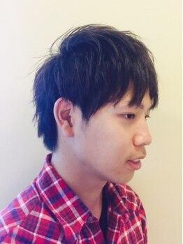 ゴエン ヘアーデザイン(goen hair design)の写真/ON/OFF使い分けられるのは当たり前!サッと決まるスタイルが好評の《goen》のスタイルで気軽に男磨き☆