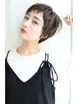 【Rose/茨木】アシメショート_エアリーショート_斜めバングi