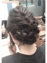 【NEUTRAL 佐々木楓】黒髪おしゃれヘアセット