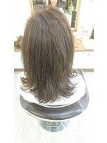 ヘアーサロン ループ(hair salon Loop)ミディアム
