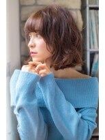 ロンド フィーユ(Lond fille)【Lond fille】愛されショートウェーブボブ☆