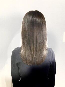 ヘアー キュービック(hair cubic)の写真/それぞれの髪質、ダメージに合わせたトリートメントで必要な成分を補給!たっぷり補ってうるツヤ美髪へ☆