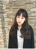 シャンプーボーイ 宮崎駅前店(SHAMPOO BOY)今どき暗髪カラーのブルージュ(^^)