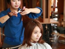 オーブ ヘアー ルミナス 千葉店(AUBE hair luminous)の雰囲気(経験と実績を積んだ実力派が揃うサロンです。(写真は他店舗))