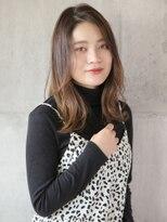 ラシェル パル ノエル(Laciel par Noel)かき上げ外国人風ヘア