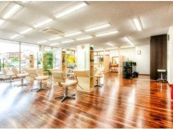 ヘアドゥポジャ 寺尾町店(Hair Do poja)の写真/ワンランク上のサロンで過ごす上質な時間を提供してくれる。細かな心づかいに感動できるサロン【poja】