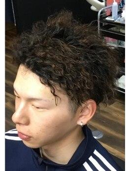 エスフォーメン(es for men)の写真/≪カット+カラー+ヘッドスパ ¥7,040≫リーズナブルな価格で、高クオリティーな技術を実感して頂けます◎