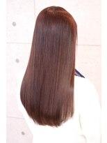 【ONE HAIR】ツヤ感☆pinkベージュ