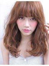 ヘアーサロン リセ 心斎橋(hair salon rise)ゆるいウェーブの小顔セミロングスタイル