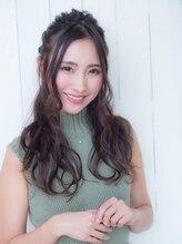 オーブ ヘアー ルーア 門前仲町店(AUBE HAIR lua)☆上品なハーフアップ☆