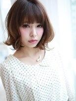 アグ ヘアー ドレス 喜久田店(Agu hair dress)外はね×モテ☆ふわミディ☆