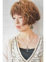 アトリエ ドングリ(Atelier Donguri)『髪質改善』asymmetry short bob