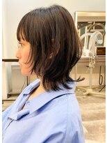 アルテヘアー(arte HAIR)【arte HAIR】ミディアムウルフ/ナチュラルモード