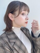 ガーデントウキョウ(GARDEN Tokyo)【GARDEN荒井夏海】耳かけが可愛いレイヤーボブ×小顔前髪