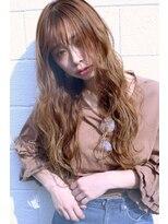 ニヨンヘアー(NIYON HAIR)外国人風アッシュベージュ×ロングヘア