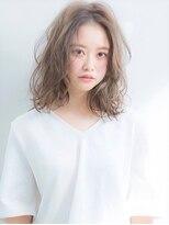 アグ ヘアー リノ 大名店(Agu hair reno)《Agu hair》束感おしゃれカールミディ
