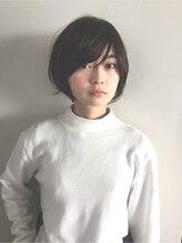 ヘアーアンドレイ エビス(hair.andrey EBISU)【andrey Ebisu】マッシュショート[junya]#斜めバング