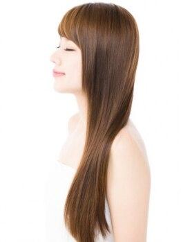 ヴォルテックス ヘアー ドレッシング(vortex hair dressing)の写真/ダメ-ジケアしながらの縮毛矯正で、扱いやすい素直な髪へ!思い通りのスタイルが作れるから、毎日Happy☆
