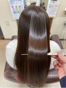 """アリーム(Areem)の写真/話題の""""酸熱トリートメント""""と""""水素トリートメント""""がオススメ!柔らかくしなやかな艶髪へと導きます♪"""