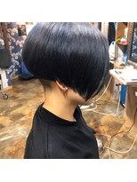ロコマーケット 下北沢店(hair meke Deco.Tokyo)刈り上げショートマッシュ