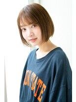 アンアミ オモテサンドウ(Un ami omotesando)【Un ami】《増永剛大》短すぎない、カジュアルショートボブ