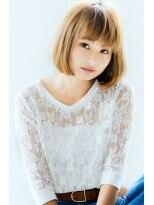 リル ヘアーデザイン(Rire hair design)【Rire-リル銀座-】王道☆小顔ボブ