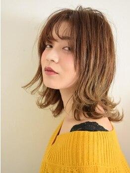 ヘアーモードケーティー 塚本店(Hair Mode KT)の写真/【カット+カラー¥6600/イルミナカラー+¥1100♪】トレンドを押さえた雰囲気漂うデザインがプチプラで叶う+。