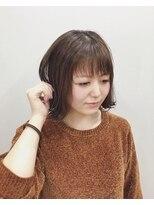 エイム ヘアメイク 横川店(eim HAIR MAKE)eimで叶える♪モテ可愛い☆切りっぱなしボブ