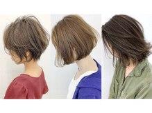 ファッション・髪質・希望に沿った【カット技術】は再現性が高く、周りから褒められる【ショート・ボブ】