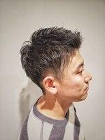 トコヤ ニュースタンダード オブ メンズヘアサロン(tokoya)メンズツーブロックショート tokoya江ヶ崎