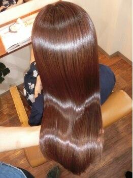 ブルームヘア 大宮(Bloom hair)の写真/【大宮駅東口】雑誌で注目。芸能人御用達のM3Dピコトリートメントで、内部からダメージ補修。