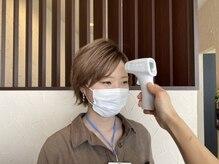 美容室クラフト 成田店の雰囲気(出勤、ご来店時にスタッフ、お客様に検温させて頂いております。)