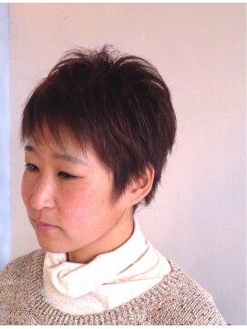 ヘアーカーブ(haircarve)haircarve春☆フレンチ・アッシュカラーショート