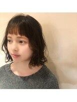 ネオヘアー 曳舟店(NEO Hair)オン眉×ぱっつんボブ(曳舟)