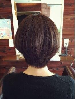アンスール(Une seule)の写真/染めるたびに髪にツヤが出る♪今までのグレイカラーとは違う輝きと質感を!ぜひお試しください☆