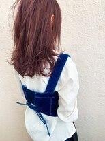マイ ヘア デザイン(MY hair design)レッドバイオレットセミディ